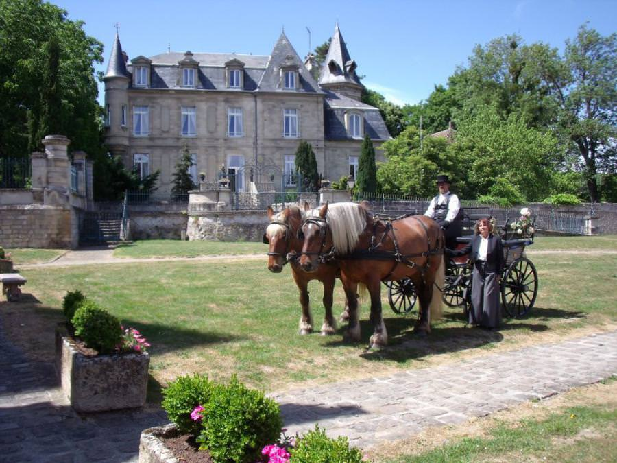 Location calèche et animation en calèche dans le département de l'Oise (60)