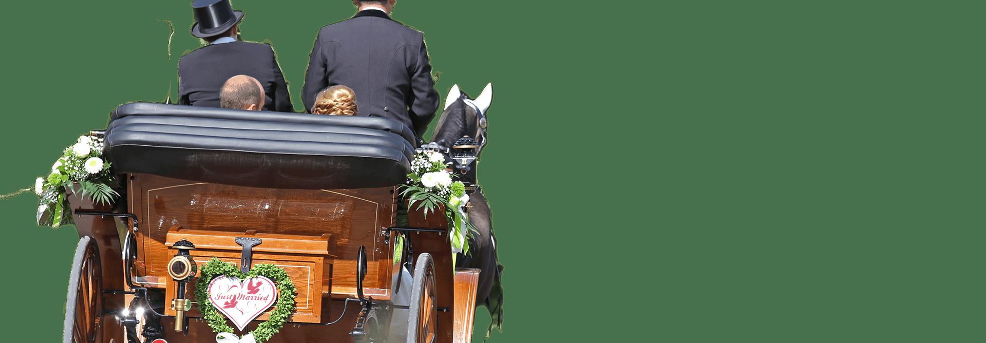 La location de calèche pour un mariage dans l'Oise